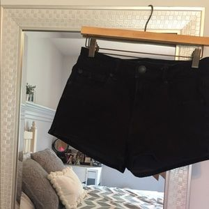 AE High Rise Shortie Shorts
